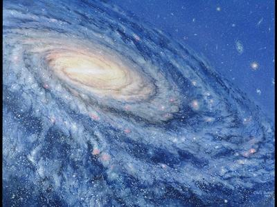 Artwork of the Milky Way, Our Galaxy