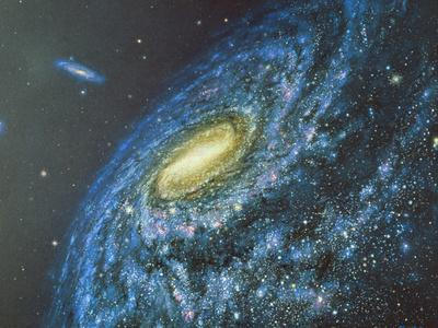 Artwork of the Milky Way Viewed From Outside