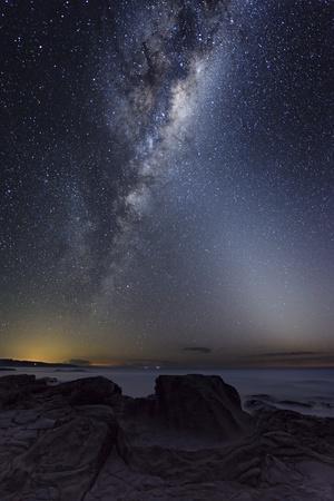 Milky Way Over Cape Otway, Australia