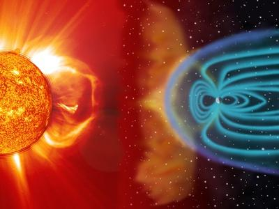 Earth's Magnetosphere, Artwork