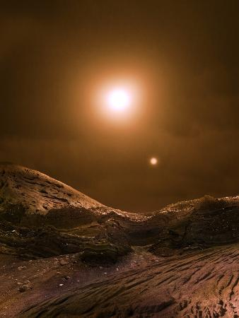 Alien Planetary Surface
