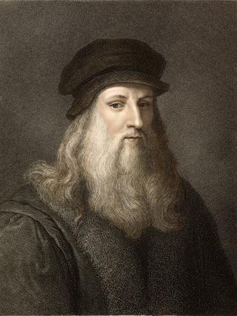 1490 Leonardo Da Vinci Colour Portrait