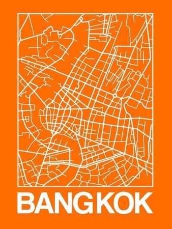 Orange Map of Bangkok