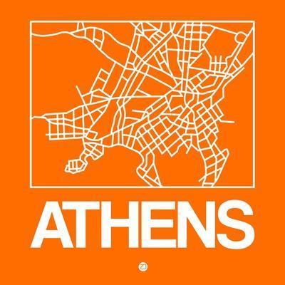 Orange Map of Athens