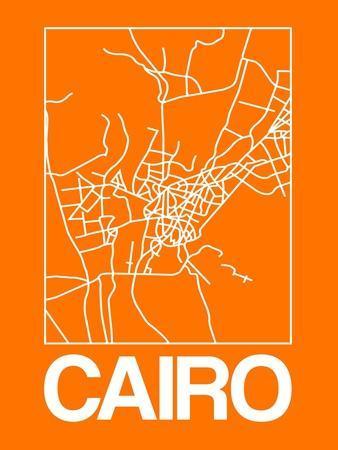 Orange Map of Cairo