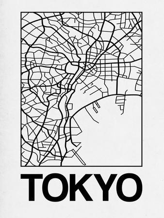 White Map of Tokyo