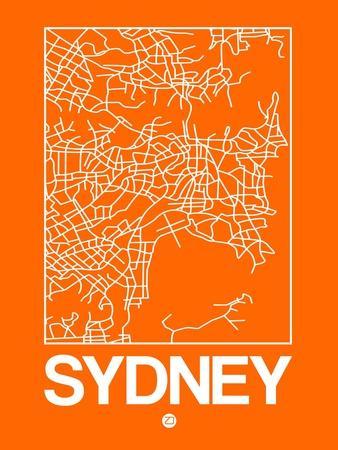 Orange Map of Sydney