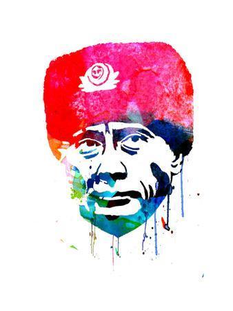 Putin Watercolor