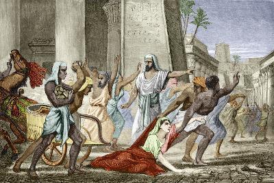 Death of Hypatia In Alexandria