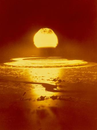 Bikini Atoll Atomic Bomb Explosion 1946
