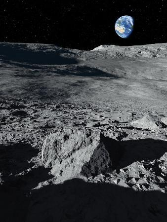Earth From the Moon, Artwork