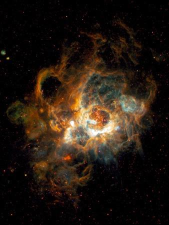 Hubble Space Telescope View of Nebula NGC 604