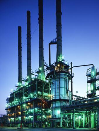 Steam Cracker At An Oil Refinery
