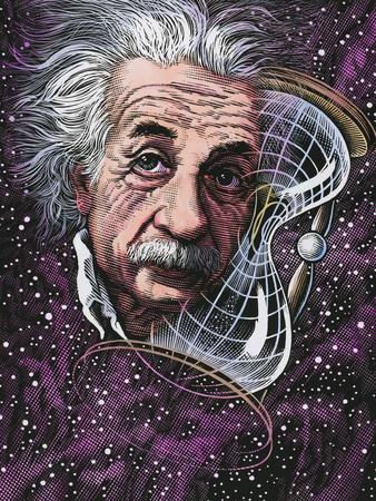 Albert Einstein, German Physicist