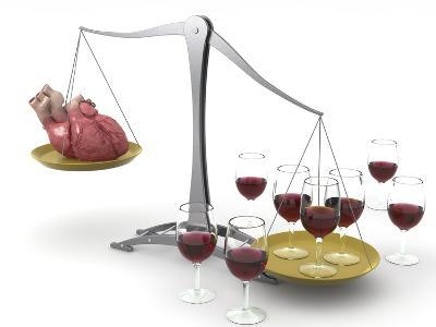 Red Wine And Heart Disease, Artwork
