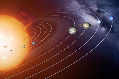 Solar System Orbits, Artwork