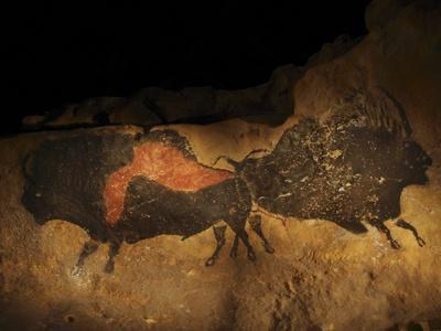 Stone-age Cave Paintings, Lascaux, France