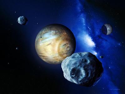 Pluto And Charon And Kuiper Belt