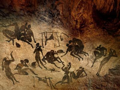 Cave Painting, Artwork
