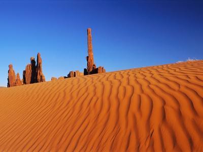 Hoodoos and Dune