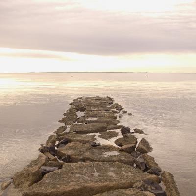 Stones in the Ocean in Connecticut