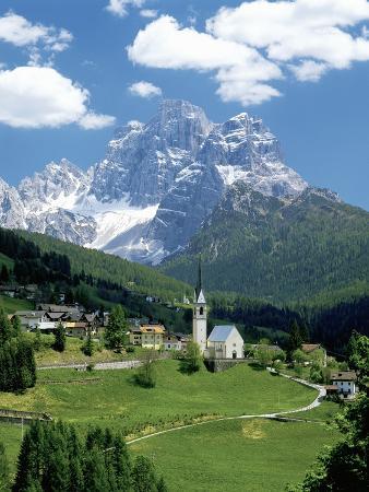 Selva di Cadore and Dolomite Alps