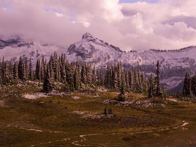 Pinnacle Peak in Winter