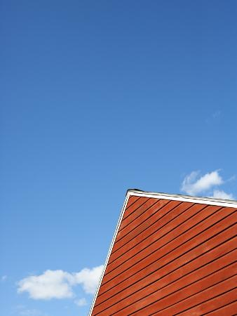 Peak of a Barn Roof