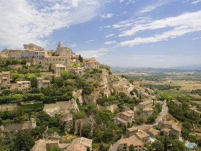 Hillside Town of Gordes in France