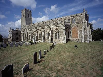 Church of the Holy Trinity in Blythburgh
