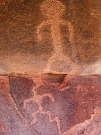 Petroglyphs in Zion National Park