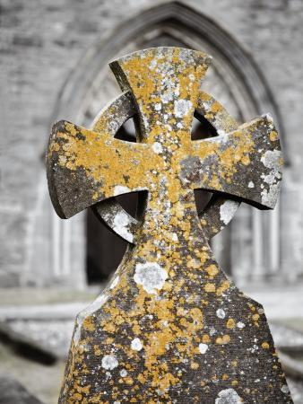 Stone Cross at St. Canice's Cathedral