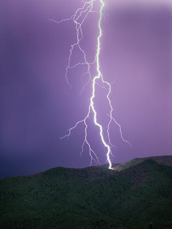Lightning Strike near Tucson