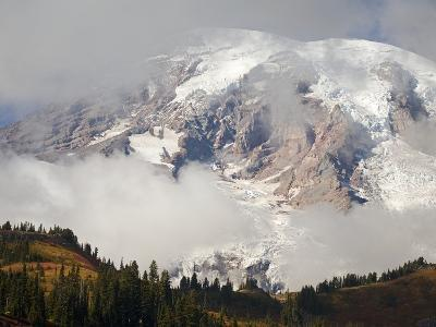 Mount Rainier in the Clouds