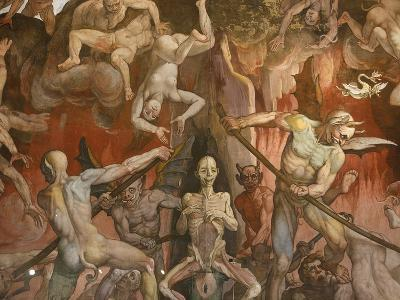 Detail of Hell from Last Judgment, Fresco Cycle