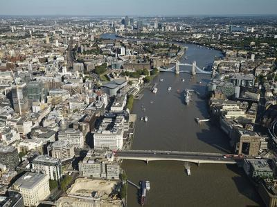 Thames River and London
