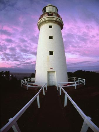 Cape Otway Lighthouse at sunrise