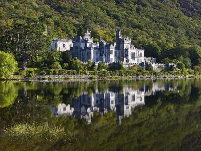 Kylemore Abbey reflected in lake