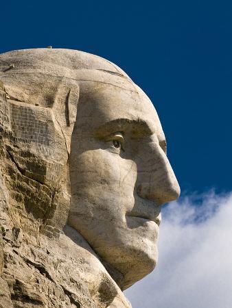George Washington on Mount Rushmore Memorial