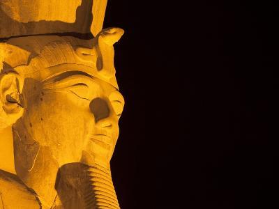 Colossus of Ramesses II at Temple of Luxor in Thebes