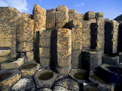 Columnar basalt at Giant's Causeway