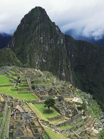 Machu Picchu Unesco World Heritage Site, Urubamba Valley, Peru