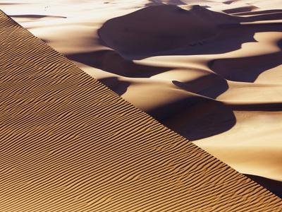Wind tracks in dunes in the Namib Desert