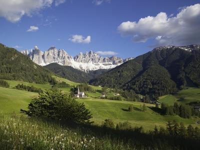 St. Maddalena Church in Val di Funes