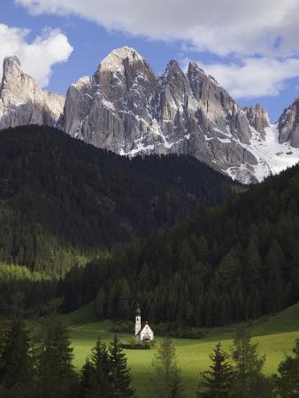 St. Giovanni Church in Val di Funes