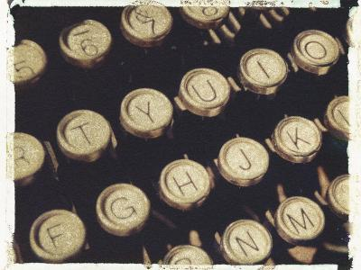 Old Typewriter Keys