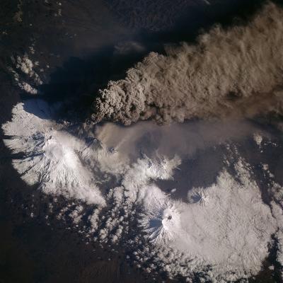 Eruption of Siberian Volcano