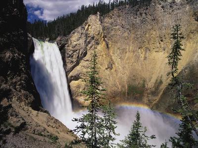 Rainbow at Lower Yellowstone Falls