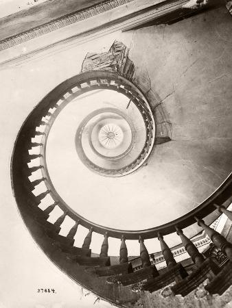 St. Louis Hotel's Winding Staircase