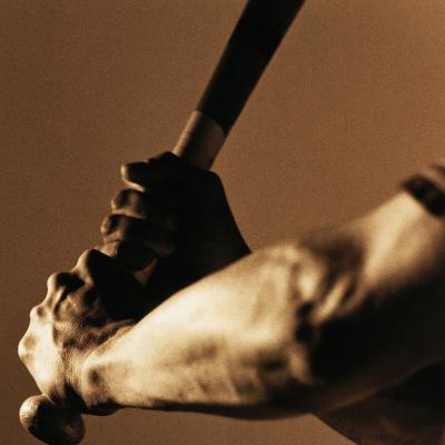 Bat in Batter's Hands